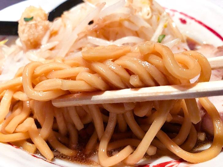 慶次郎ラーメンの麺