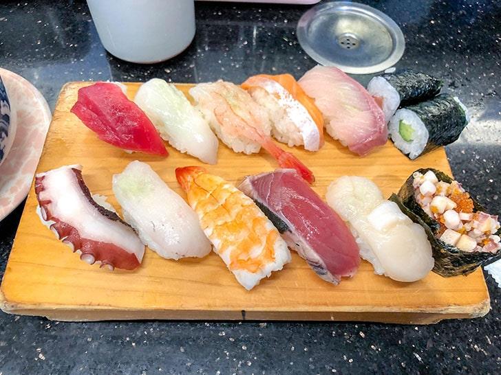 12貫のお寿司