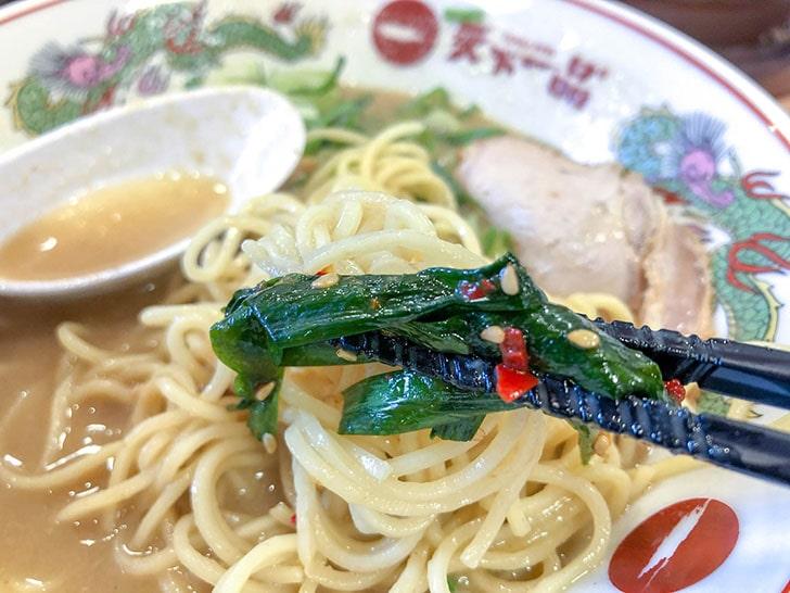 ニラニンニク・麺