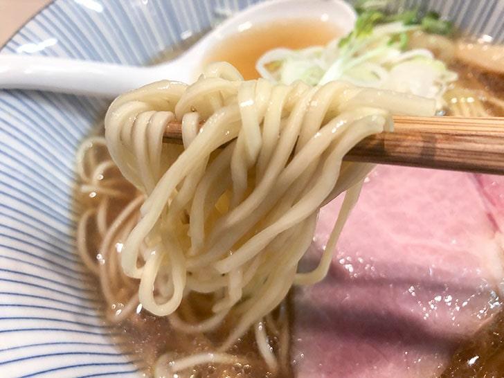 香味中華そば 麺