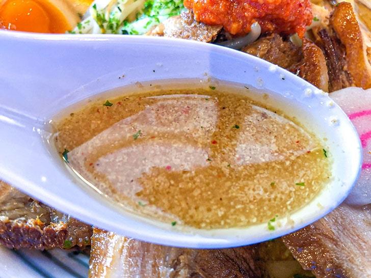 ちゃーしゅうや武蔵のスープ