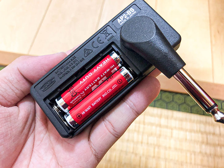 Vox amplug2 電位