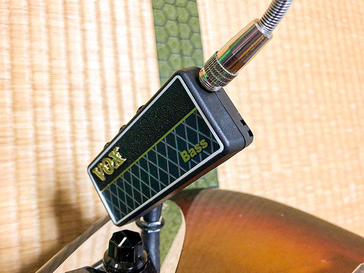 Vox amplug2 ヘッドホン、イヤホン装着