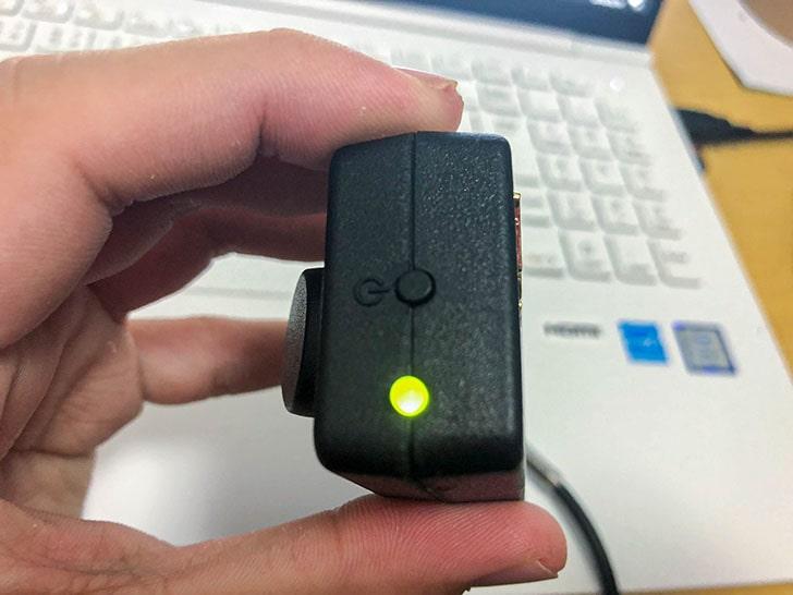 Vox amplug2 電源 緑