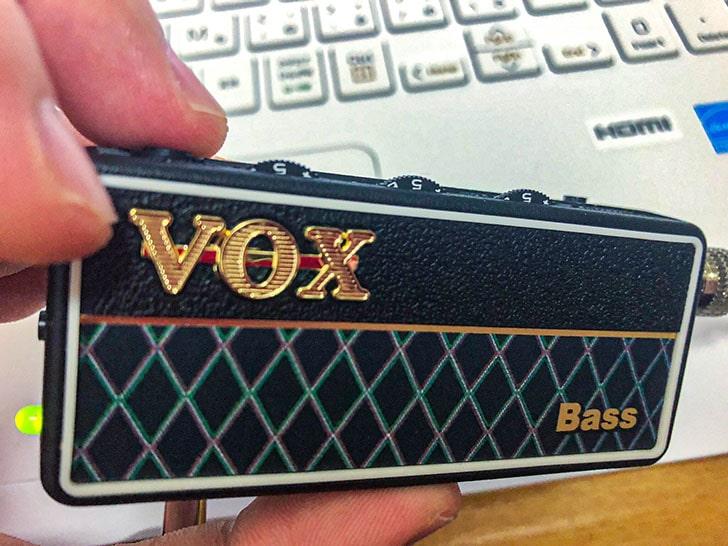 Vox amplug2 目盛