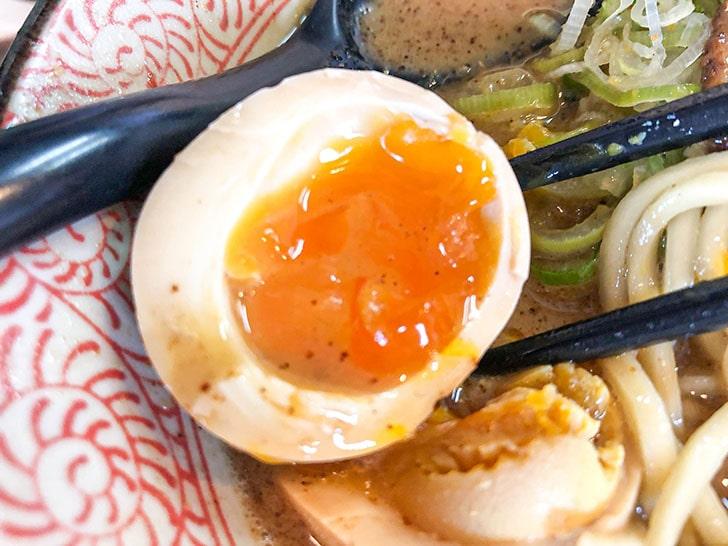 鰹メガマックスのり玉 煮卵