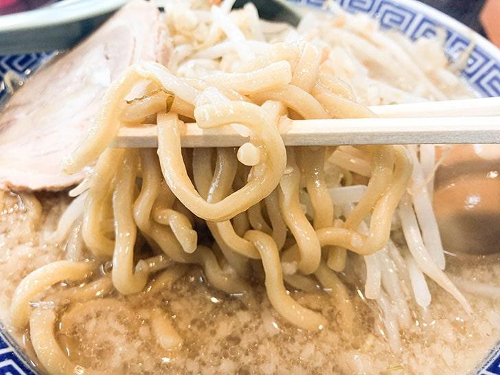 山勝 角ふじ 角ふじ麺の特製極太麺