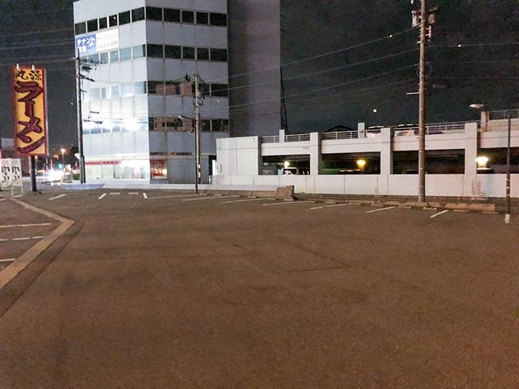 丸源ラーメン 駐車場
