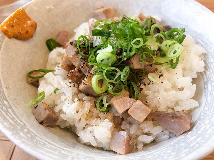 自家製麺 のぼる チャーシュー丼