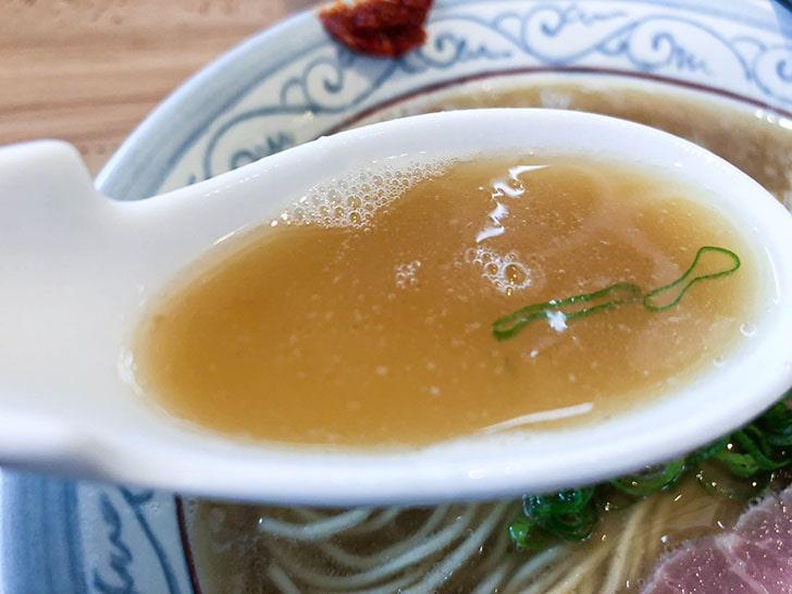 自家製麺 のぼる 無化調スープ