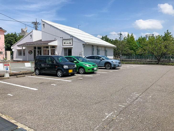 マキシマムザラーメン 初代 極 駐車場