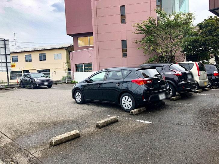 とんかつ まる金 駐車場