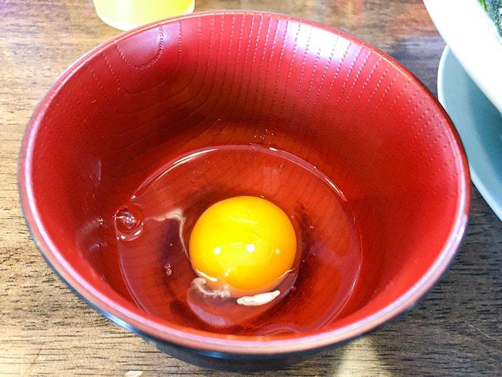 ラーメンショップ 椿 生卵