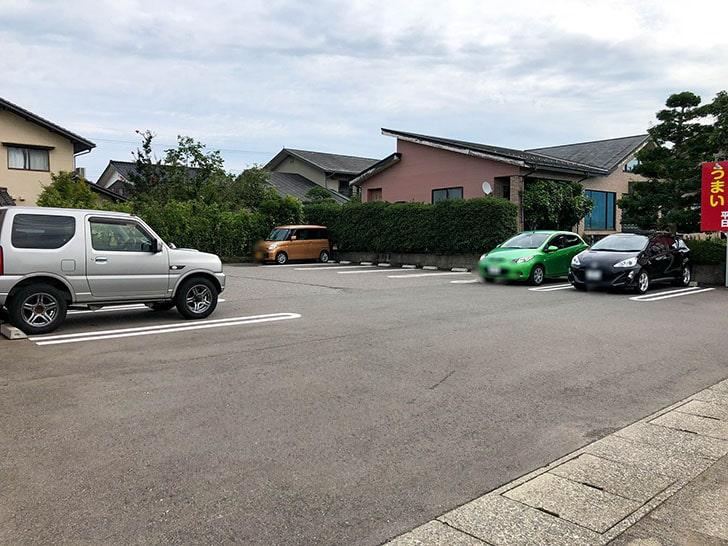 ラーメンショップ 椿 駐車場