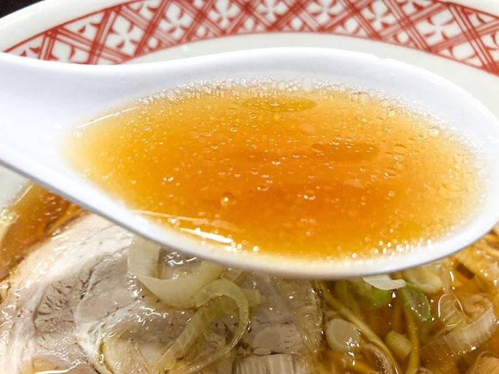万味 あっさり醤油スープ