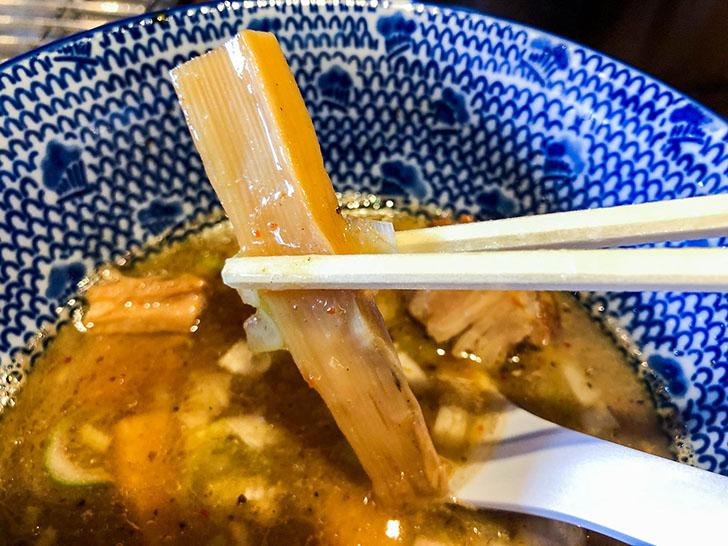 二郎系つけ麺 麺屋 凪 メンマ