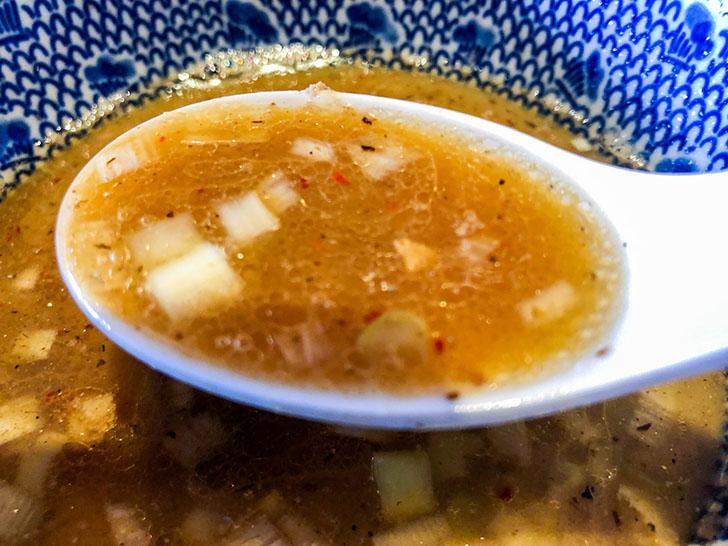 二郎系つけ麺 麺屋 凪 スープ