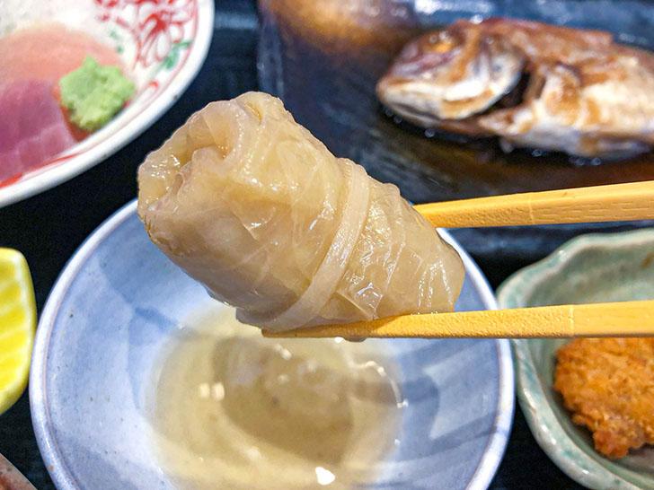魚がし食堂 金沢中央市場店 ロールキャベツ