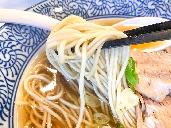 めんや 安寿 細麺