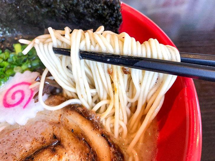 一心屋 武骨屋商店 細麺
