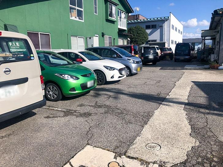 &sand 駐車場