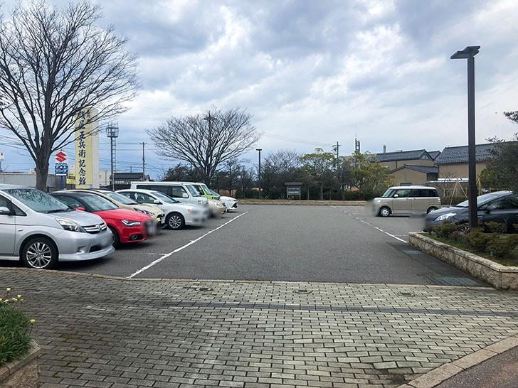 札幌海老麺舎 金沢銭五店 駐車場