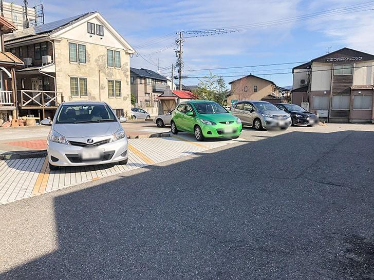 屋台餃子 風天 駐車場
