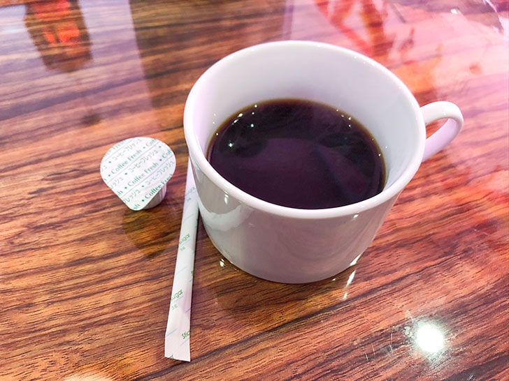 小雪 小柳店 コーヒー