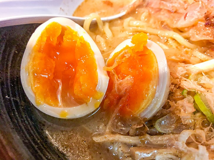 らぅめん とみ軒 特製カツオらぅめん 煮卵