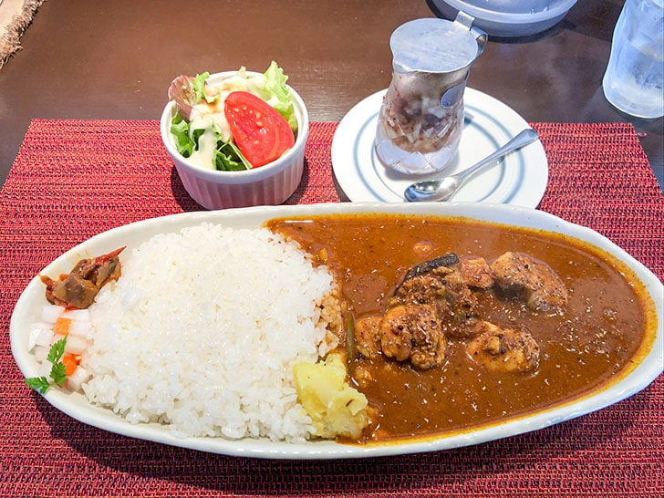 spice curry cafe KOTTA スパイスチキンカレー