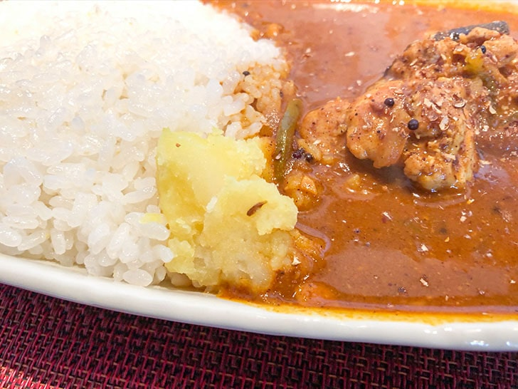 spice curry cafe KOTTA じゃがいも