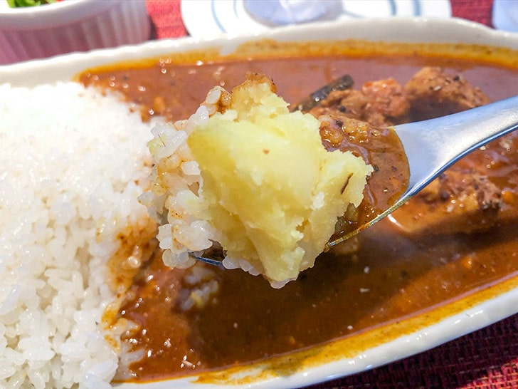 spice curry cafe KOTTA ルーとじゃがいも
