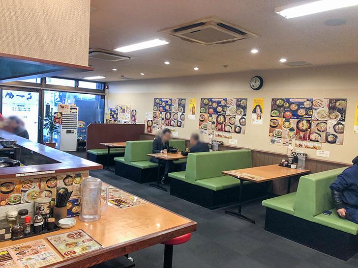 松田屋 テーブル席