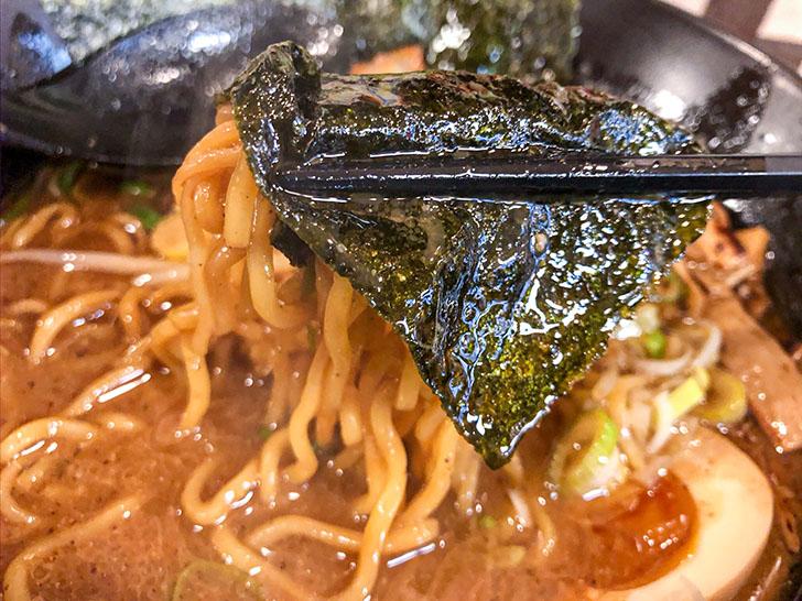 松田屋 縮れ細麺と海苔