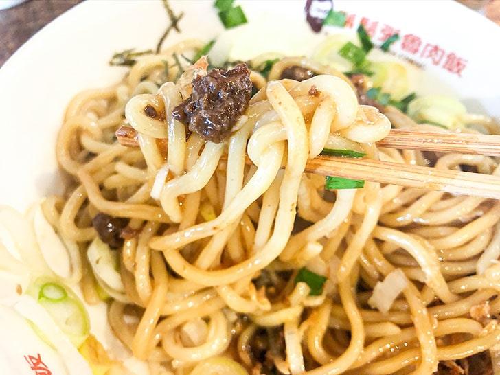 鬍鬚張魯肉飯 金沢工大前店 ひき肉と麺