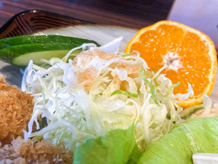 とんかつ 高野 サラダ
