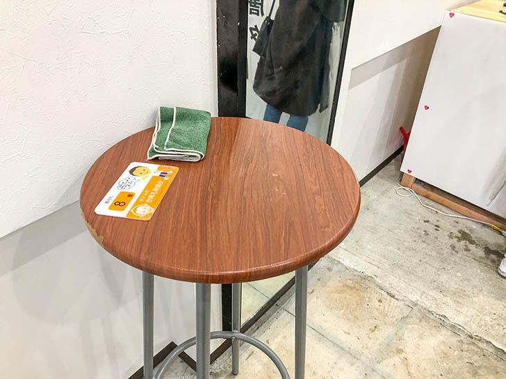 李さんの台湾名物屋台 金沢竪町店 店内テーブル