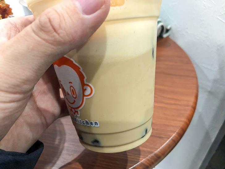 李さんの台湾名物屋台 金沢竪町店 スッキリとしたミルクティ