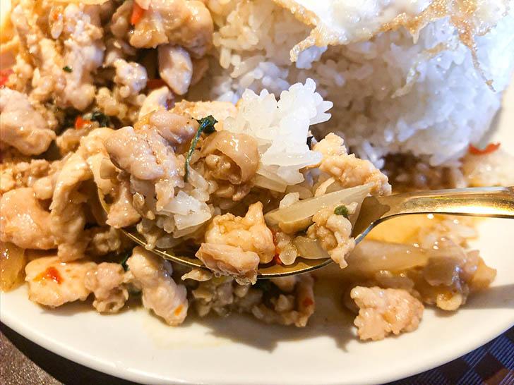 ジャークジャイタイフードセンター 鶏ひき肉たっぷりのガパオライス