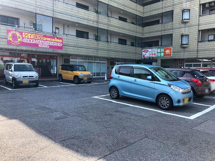 ジャークジャイタイフードセンター 駐車場