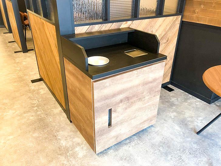 琥珀‐KOHAKU‐金沢竪町店 ゴミ箱