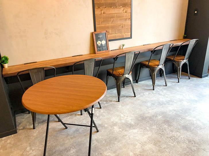 琥珀‐KOHAKU‐金沢竪町店 カウンター席