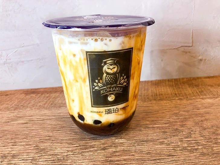 琥珀‐KOHAKU‐金沢竪町店 黒糖パールミルク