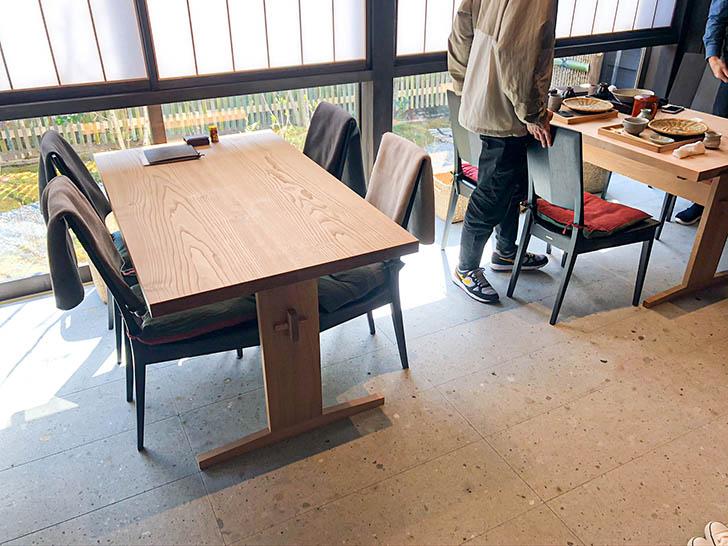 手打蕎麦 こより テーブル席2