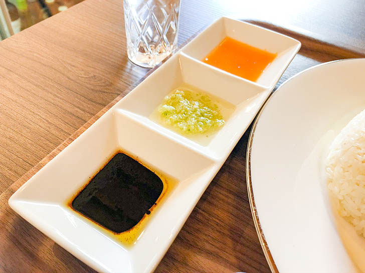 雷風 海南鶏飯(ライフーチキンライス) ソース