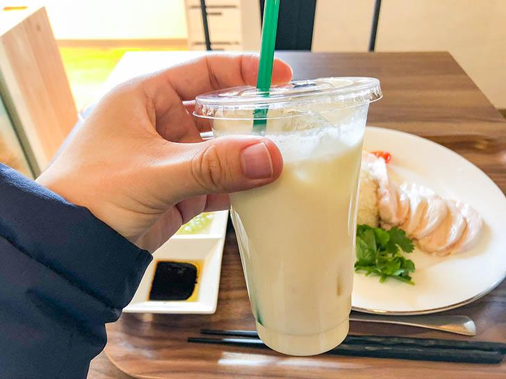 雷風 海南鶏飯(ライフーチキンライス) バナナジュース