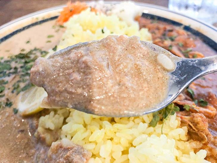 ムライ食堂 ココナッツ豆乳キーマカレーアップ
