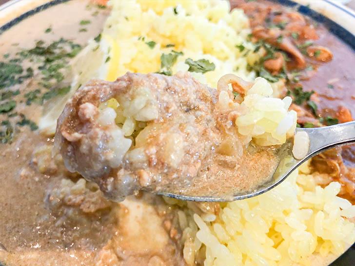 ムライ食堂 ココナッツ豆乳キーマカレーとご飯