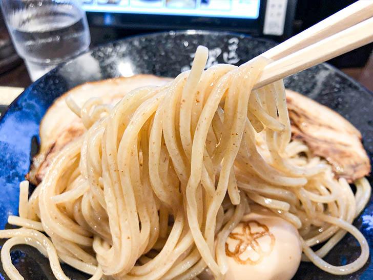自家製麺 つけ麺桜 コシのある麺