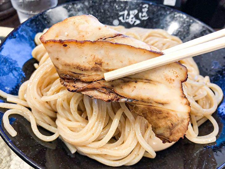 自家製麺 つけ麺桜 美味しいチャーシュー